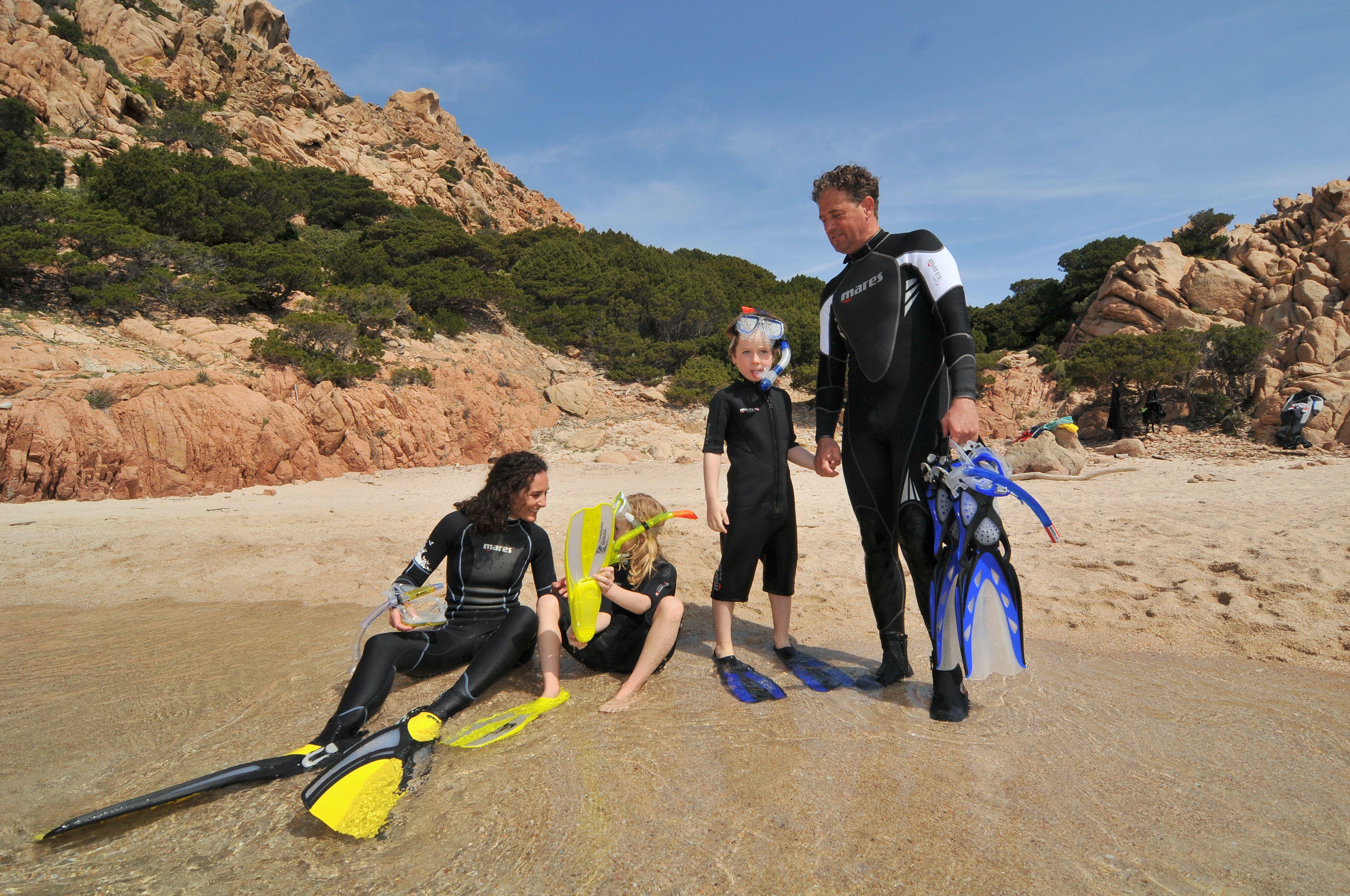 Snorkel- en zwemproducten