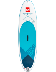 Red Ride 10'8'' x 34'' incl. Peddel & Leash