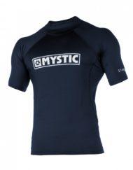 Mystic Star Rash Vest Men S/S Navy