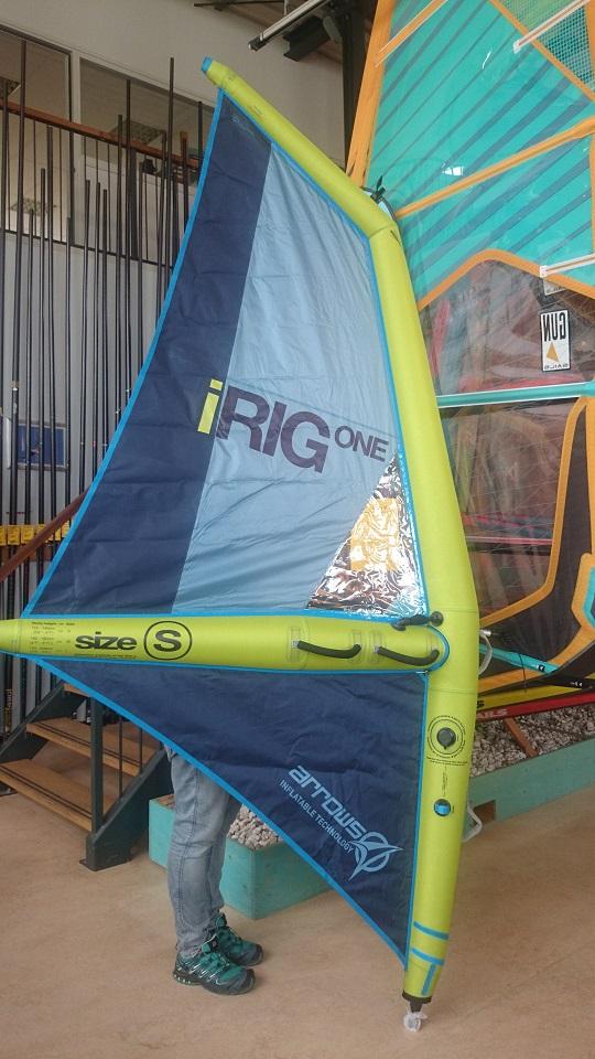 fanatic arrows inflatable windsurf sail