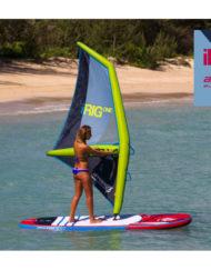 Fanatic Arrows iRIG ONE Inflatable Windsurf Sail