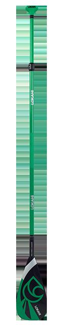 Lokahi 50% Carbon Paddel 2 pc Green