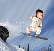 Kinder snowboards