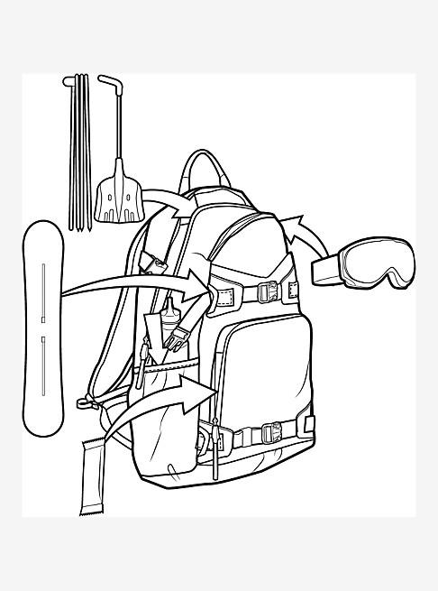 Burton Rider's 25L Backpack 2.0
