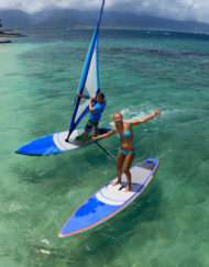 Opblaasbare windsurfboards