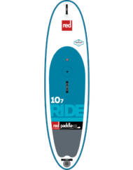 Red Ride 10'7'' WindSUP 2017+ Middenvin + Peddel + Leash