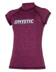 Mystic Star S/S Rash vest Pink WMS