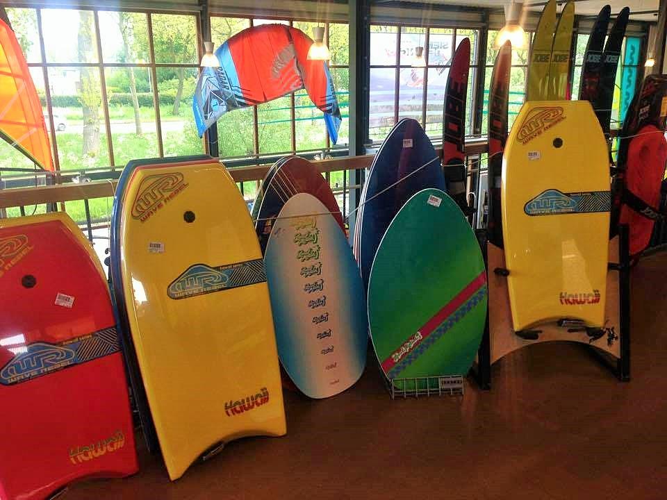 Bodyboards en Skimboards
