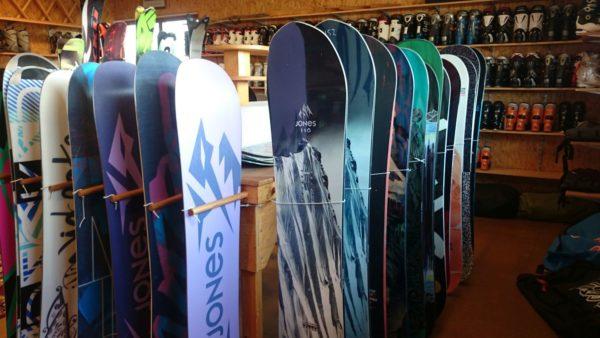 Verhuur Snowboards