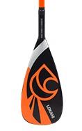 Lokahi 50% Carbon Paddel 2 pc Orange