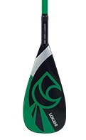 Lokahi 50% Carbon Paddel 2 pc Green