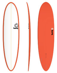 Torq MOD FUN - 7'6'' Pin Line Red + White