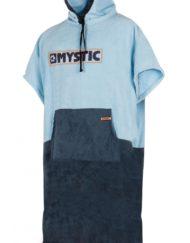 Mystic Poncho Regular Navy/Grey