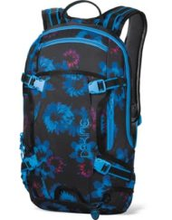 Dakine Heli Pack 12L Backpack Blue Flowers