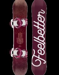 Bataleon Feelbetter 3BT 149 + Switchback Binding