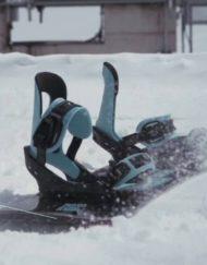 Snowboardbindingen