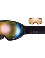 Sinner Mohawk Black - Red Mirror + Spare lens