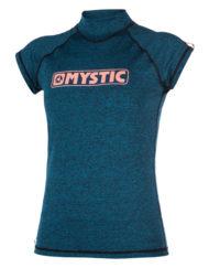 Mystic Star S/S Rash vest Teal WMS