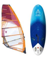 Starboard Go Windsurfer 195 3DX + GUNSAILS Stream tuigage
