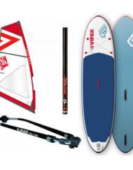 Fanatic Viper Air Windsurf 11' x 33.5''+ GUNSAILS SUP Tuigage
