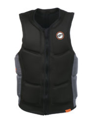 Prolimit Slider Vest Full Padded FZ Black/Orange