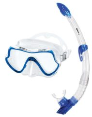 Mares Mask + Snorkel set Pure Vision Adult Blauw