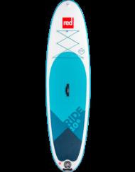 Red Ride 10'6'' x 32'' incl. Peddel & Leash