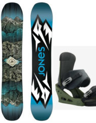 Jones Mountain Twin + Burton Custom