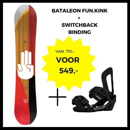 Bataleon Fun.Kink 3BT + Switchback binding