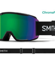 Smith Squad Black - ChromaPop Sun Green Mirror