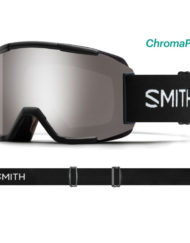 Smith Squad Black - ChromaPop Sun Platinum Mirror + Spare