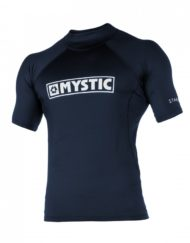 Mystic Star Rash Vest Junior S/S Navy