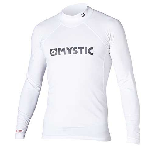Mystic Star L/S Rash Vest White