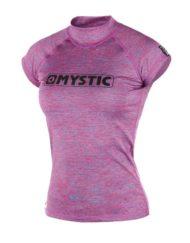 Mystic Star S/S Rash Vest Pink Melee WMS