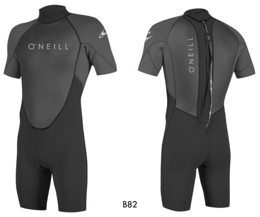 O'neill Reactor II 2mm S/S Spring Back Zip