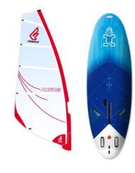 Starboard Go Windsurfer 195 3DX + Fanatic Ride tuigage