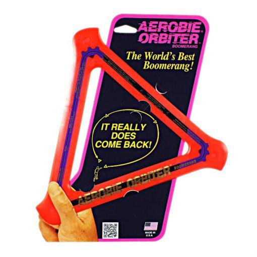 Aerobie Orbiter Boomerang Orange