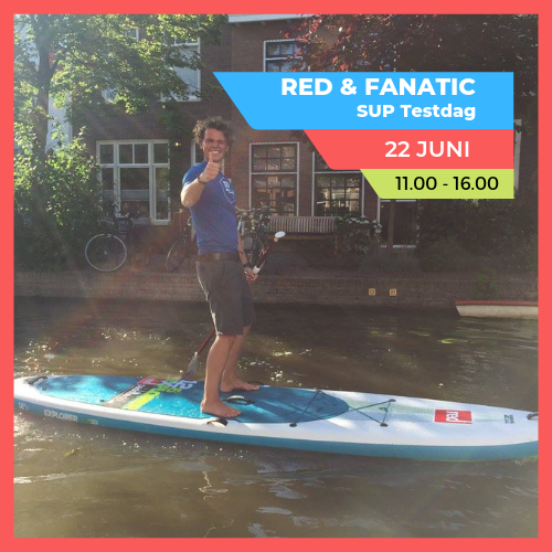 Red & Fanatic SUP Testdag